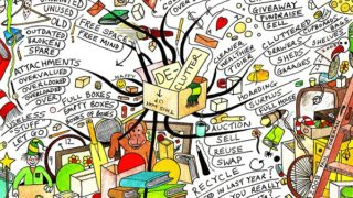 Clearing your mind to declutter your home