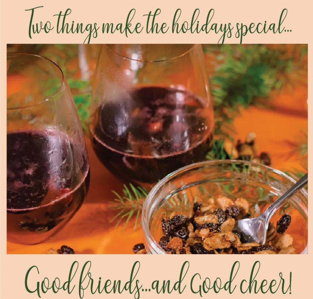 Recipe for a Happy Holiday and a Joyous New Year
